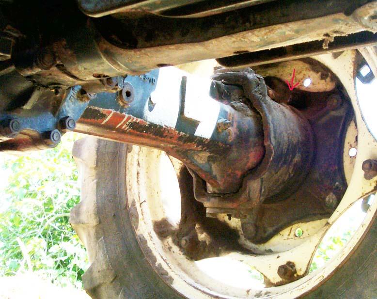 Tractor Axle Hubs : Front hub oil level mytractorforum the friendliest